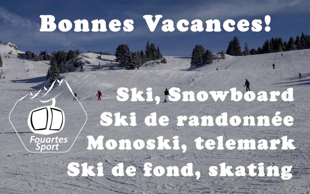 Bonnes vacances de ski à Chamrousse